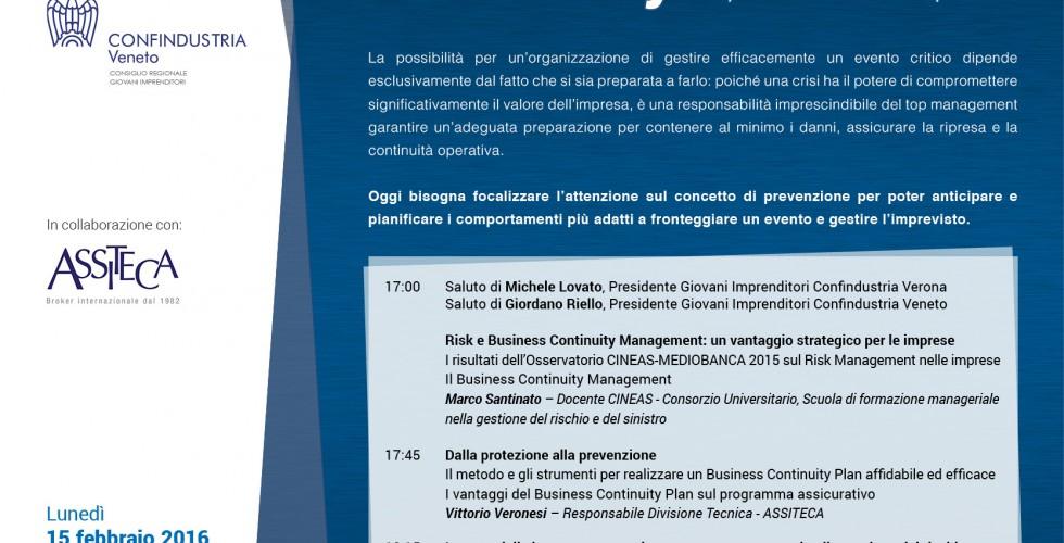GI INVITO BUSINESS CONTINUITY